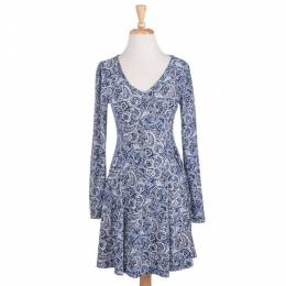 Cecico Paisley Knit Dress