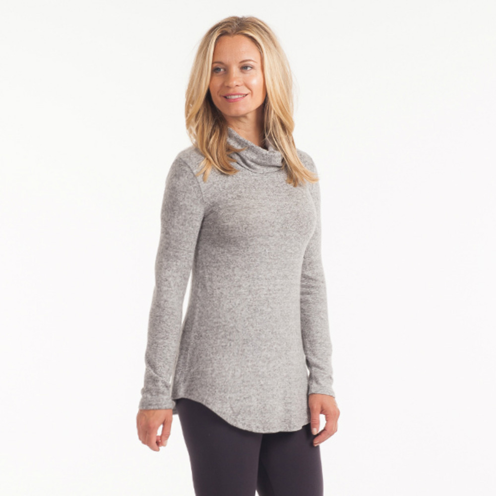 Cecico Brushed Turtleneck Sweater