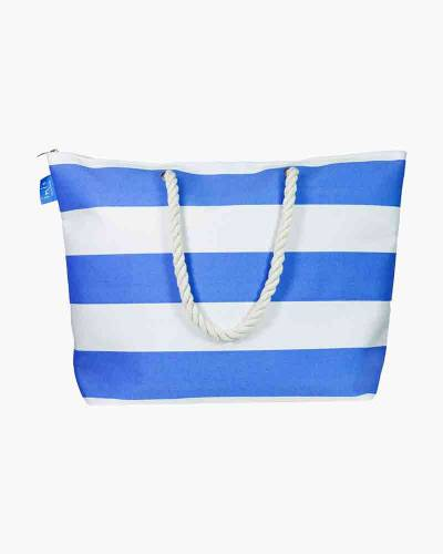Sandy Stripe Beach Bag