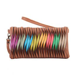 Mellow World Rainbow Twist Clutch