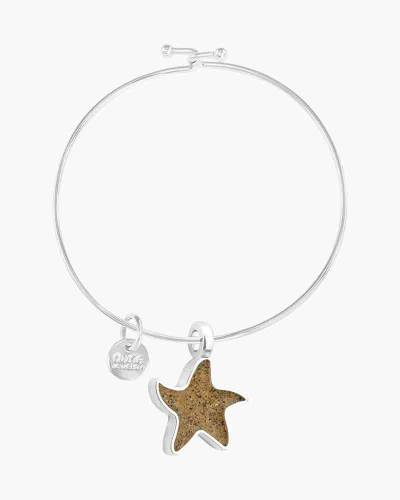 Starfish Charm Beach Bangle