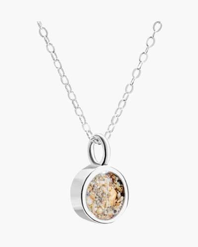 Sand Jewel Round Necklace