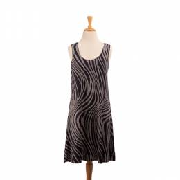 Pretty Woman Fashion Speckled Zebra Print Dress
