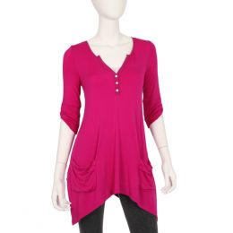 Caite Berry Juice Sharkbite Tunic