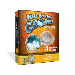 Discover with Dr. Cool Break Open Real Geodes Starter Kit