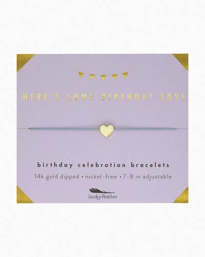 Some Birthday Love Celebration Bracelet