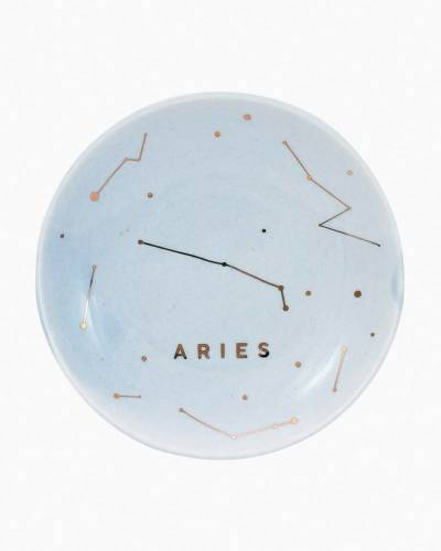 Aries Zodiac Trinket Dish