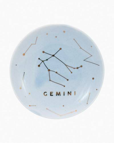 Gemini Zodiac Trinket Dish