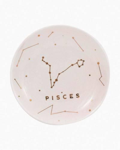 Pisces Zodiac Trinket Dish