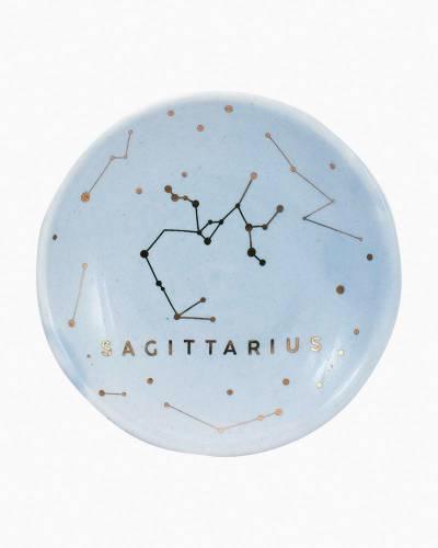 Sagittarius Zodiac Trinket Dish
