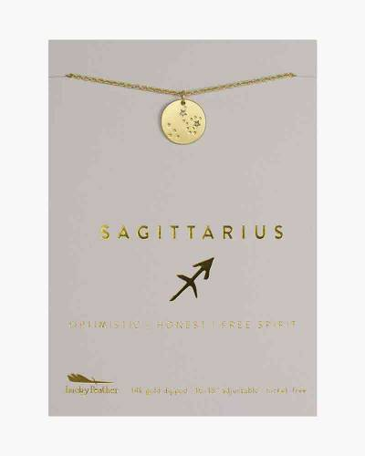 Sagittarius Zodiac Sign Constellation Pendant Necklace