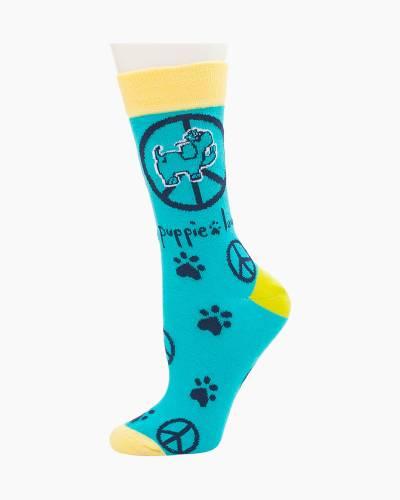 Peace Pup Socks