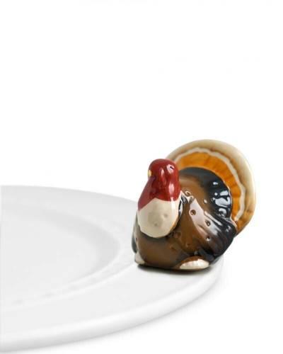 mini Turkey Platter Ornament