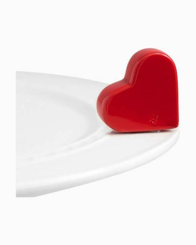 mini Heart Platter Ornament