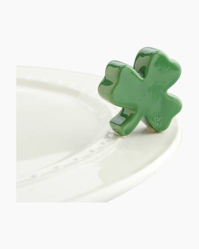 mini Shamrock Platter Ornament