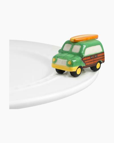 mini Woody Wagon Platter Ornament