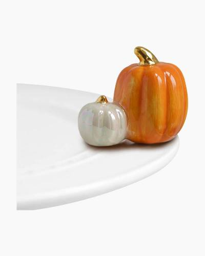 mini Pumpkin Platter Ornament
