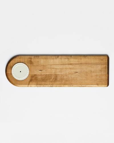 Wooden Bread Board with mini Holder