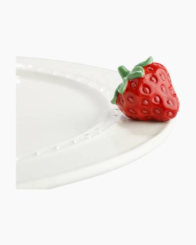 mini Strawberry Platter Ornament