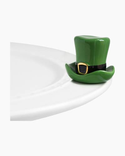 mini Leprechaun Hat Platter Ornament