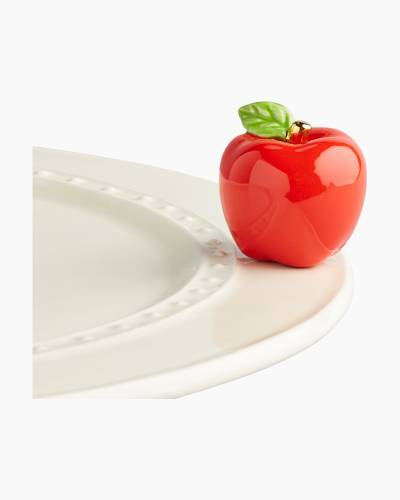 mini Apple Platter Ornament