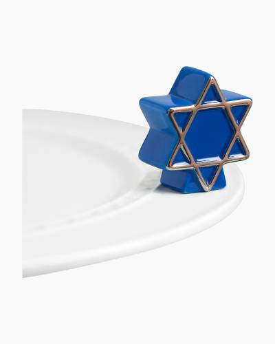 mini Star of David Platter Ornament