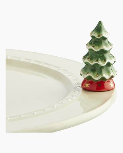 mini X-mas Tree Platter Ornament