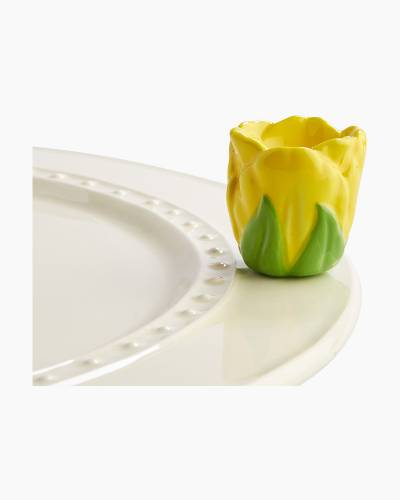 mini Tulip Toothpick Holder Platter Ornament