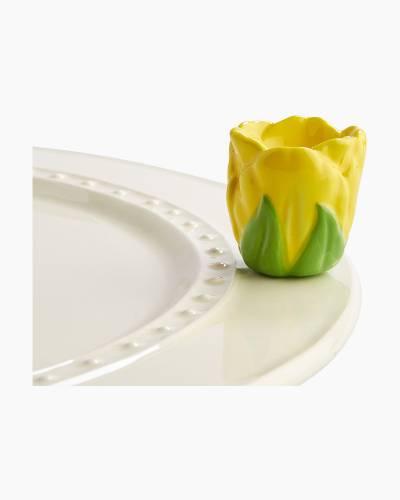mini Tulip Toothpick Holder Platter Ornament