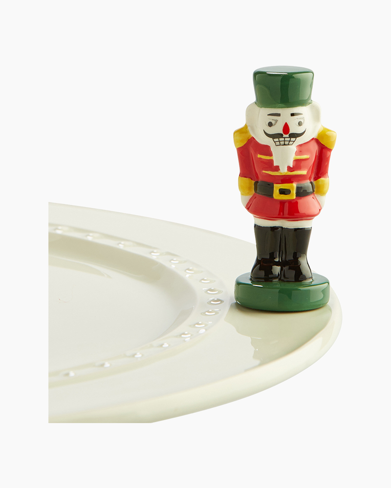 nora fleming mini Nutcracker Platter Ornament