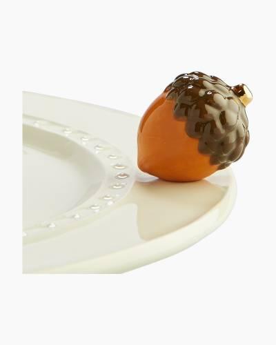 Mini Acorn Platter Ornament