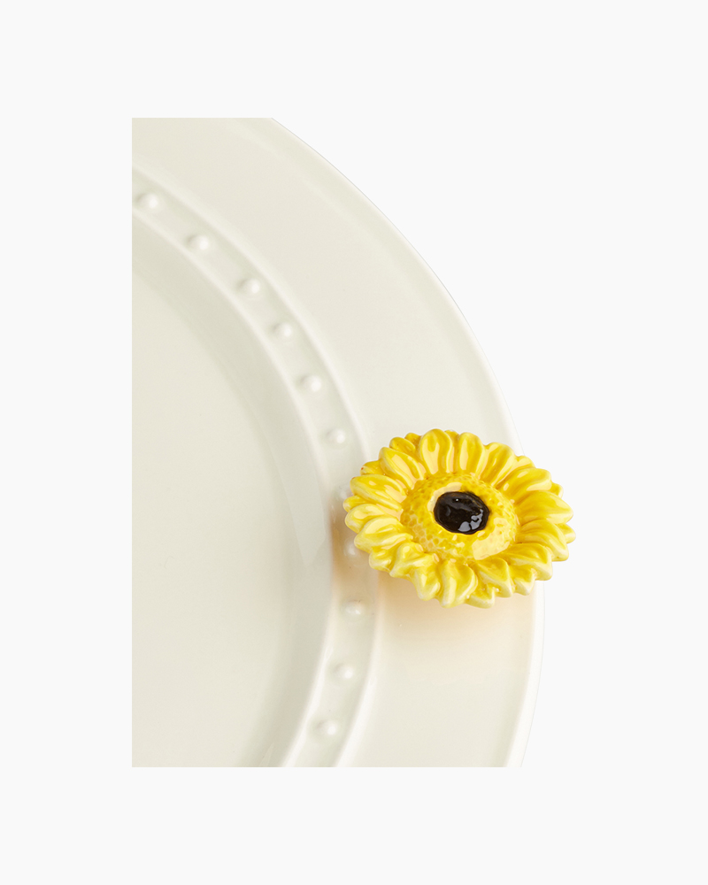 nora fleming mini Sunflower Platter Ornament