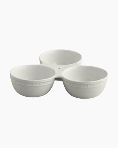 Triple Serving Dish