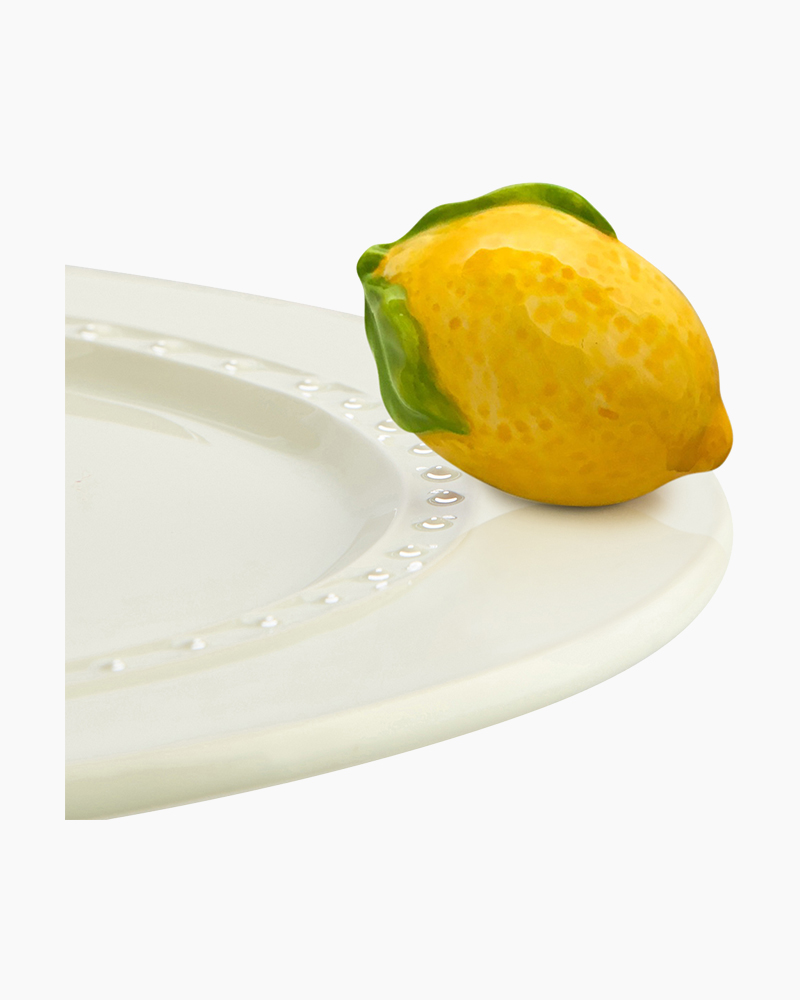 mini Lemon Squeeze Platter Ornament