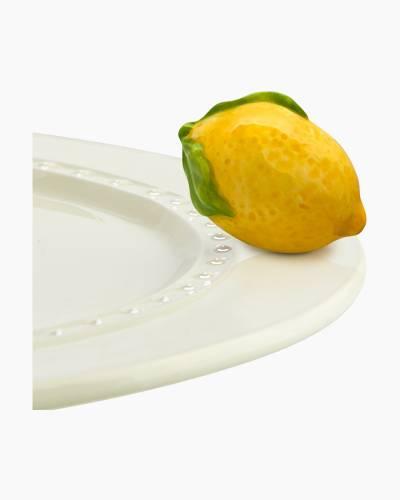 mini Lemon Squeeze Platter Ornament