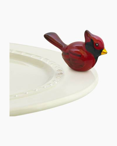 mini Cardinal Platter Ornament