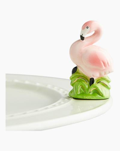 mini Flamingo Platter Ornament