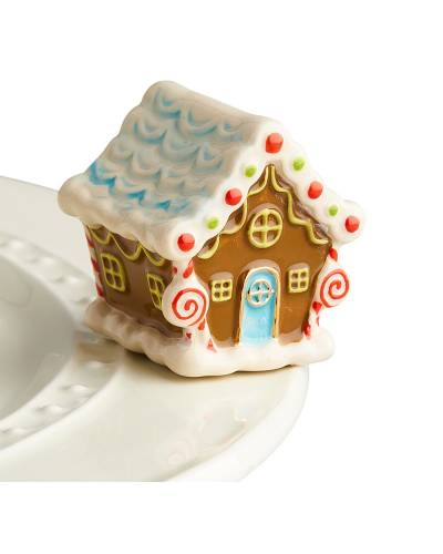 mini Gingerbread House Platter Ornament