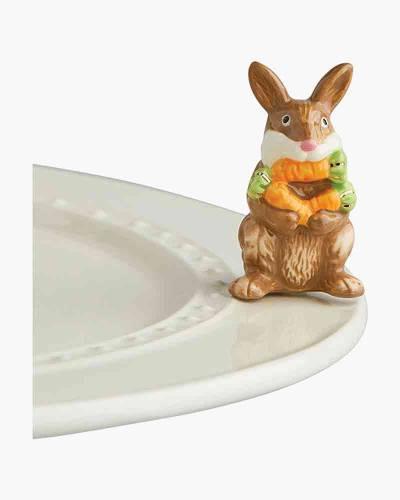 mini Bunny Platter Ornament
