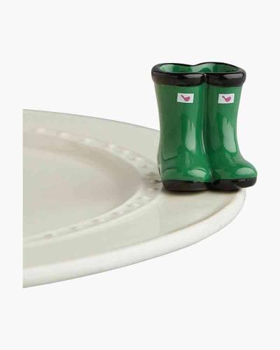 mini Willie Boots Platter Ornament
