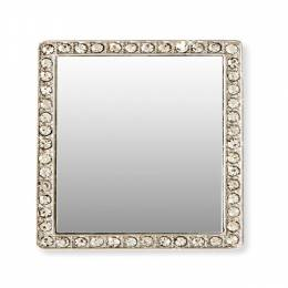 iDecoz Square Clear Crystal Selfie Mirror