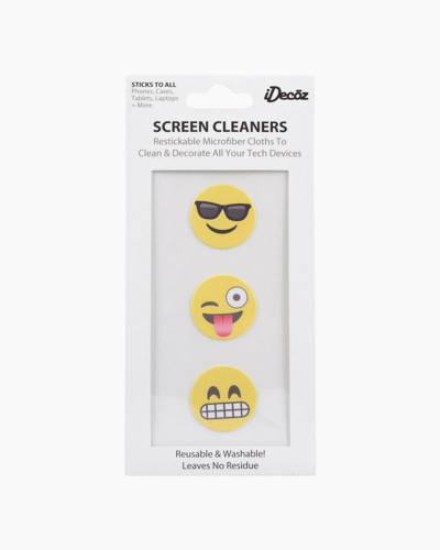 Emoji Restickable Screen Cleaner Pack