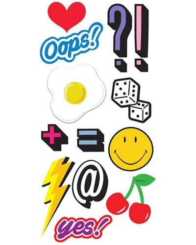 Oops StickerTags