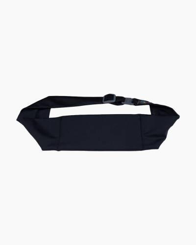 Large Pocket Adjustable Belt in Black