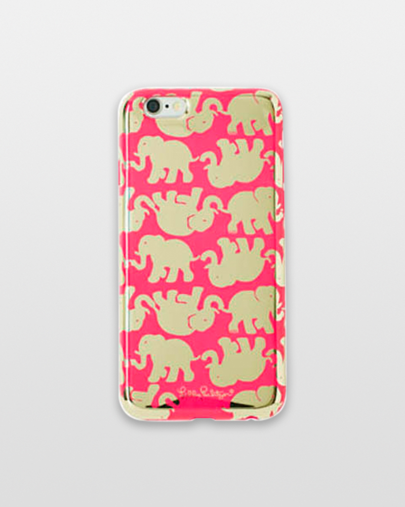 Lilly Pulitzer Magenta Tusk In Sun iPhone 6/6S Cover