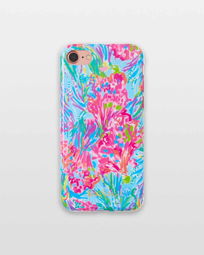 Lilly Pulitzer iPhone 7 Cover in Fan Sea Pants