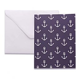 Amy Ruth Designs Anchors Boxed Note Cards