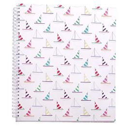 Amy Ruth Designs Sailboat Notebook