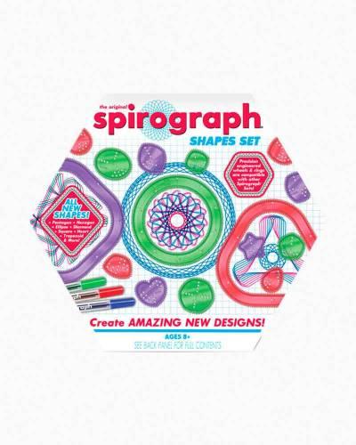 The Original Spirograph Shapes Set