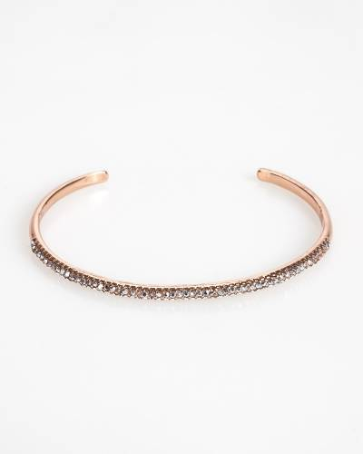 Exclusive Thin Pave Cuff